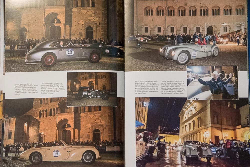 Il Volume Sulle Strade Della Mille Miglia 2017, Di Attilio Facconi. Un Percorso Ad Immagini Della Storica Corsa Automobilistica.