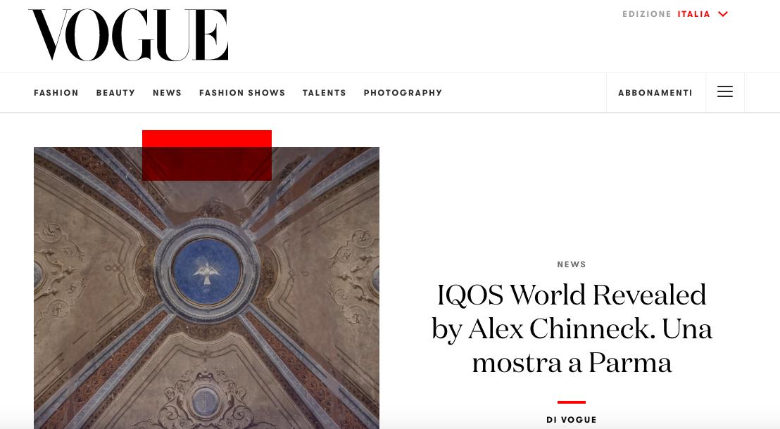 Vogue Italia Foto Articolo Francescabocchiafotografia